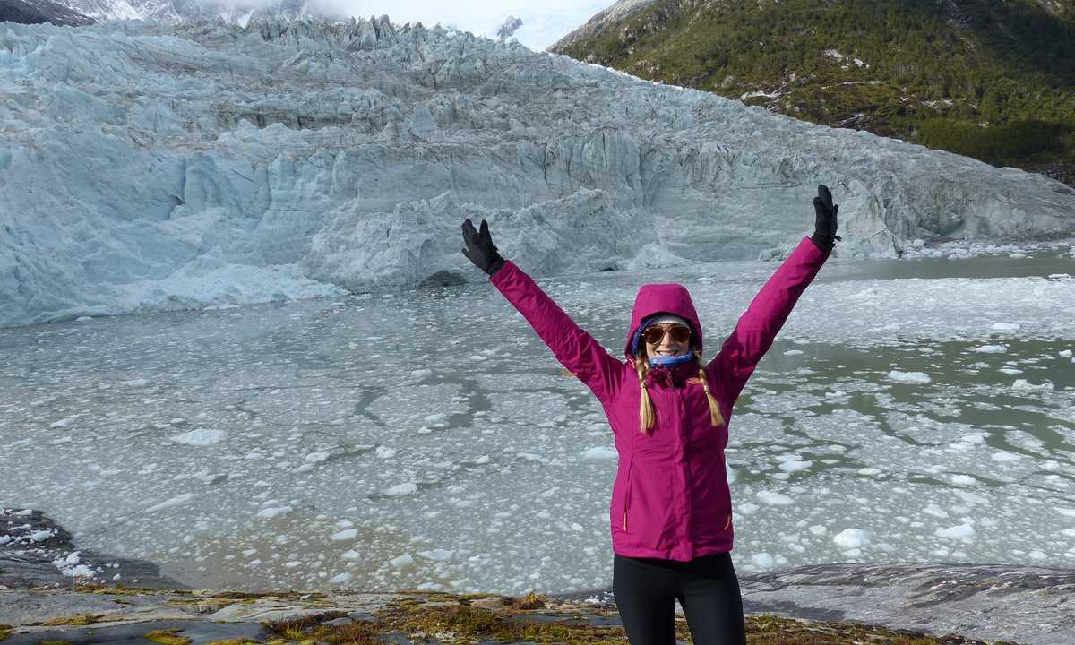 Chloe cruceros cruise pia glacier chilean fjords