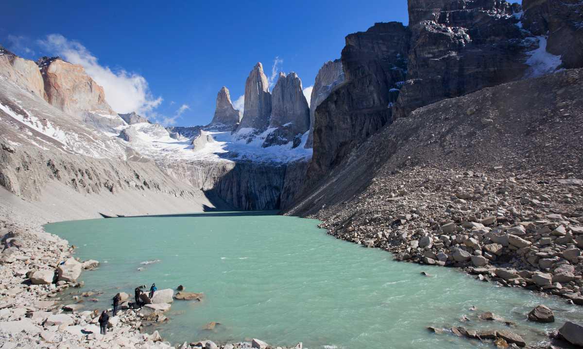 Torres Del Paine Lagoon-Shereen Mroueh