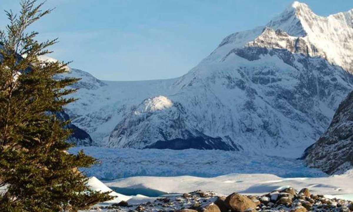 Glaciar Mayo