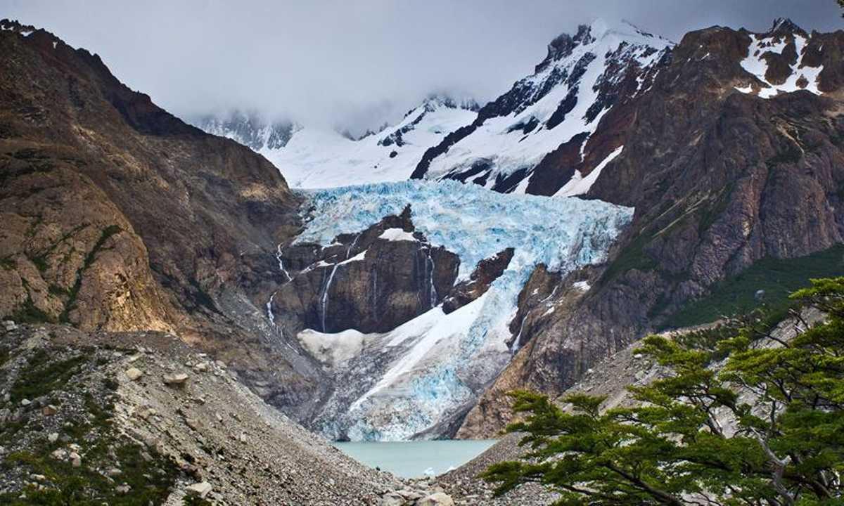Glaciar Piedras Blancas