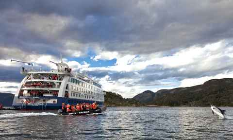 Adventure cruises in Tierra del Fuego