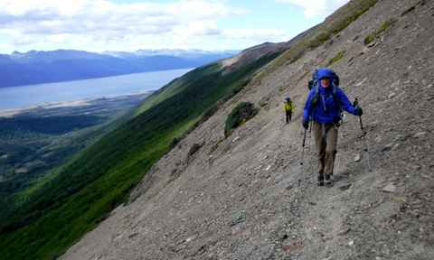Hiking in Tierra del Fuego