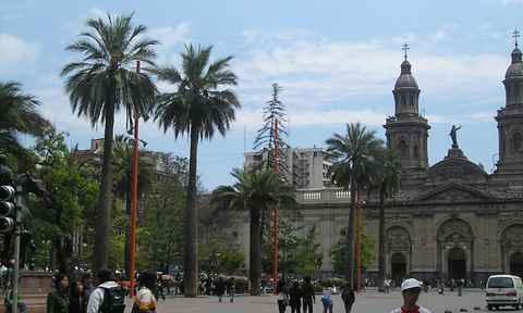 Sightseeing in Santiago