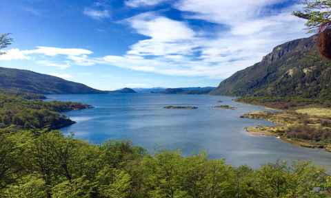 Bay in Tierra del Fuego