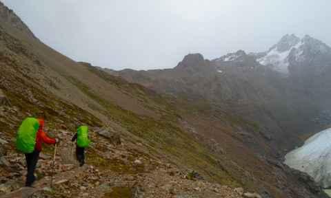 Paso del Viento in El Chalten