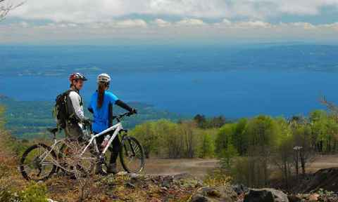 Mountain Biking in the Patagonian Lake District