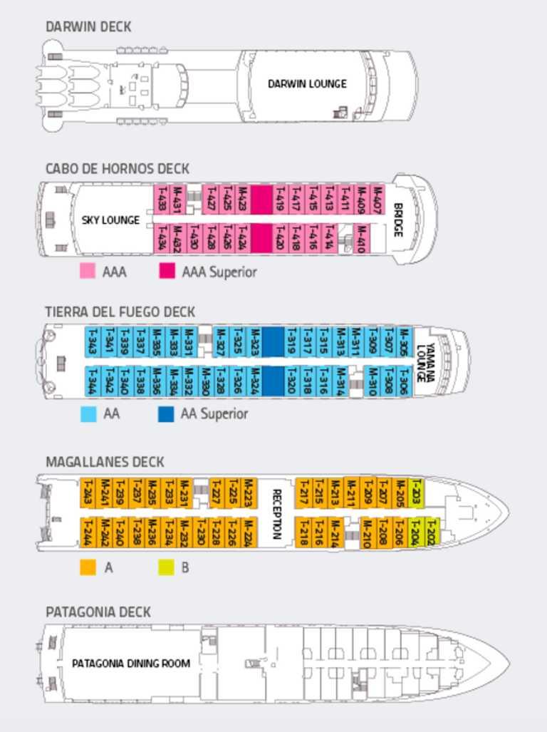 Ventus Deck Plan