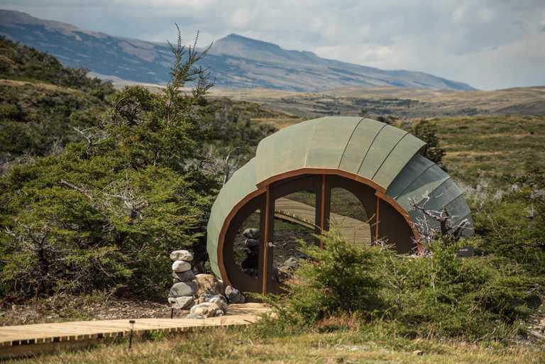 eco camp massage pod