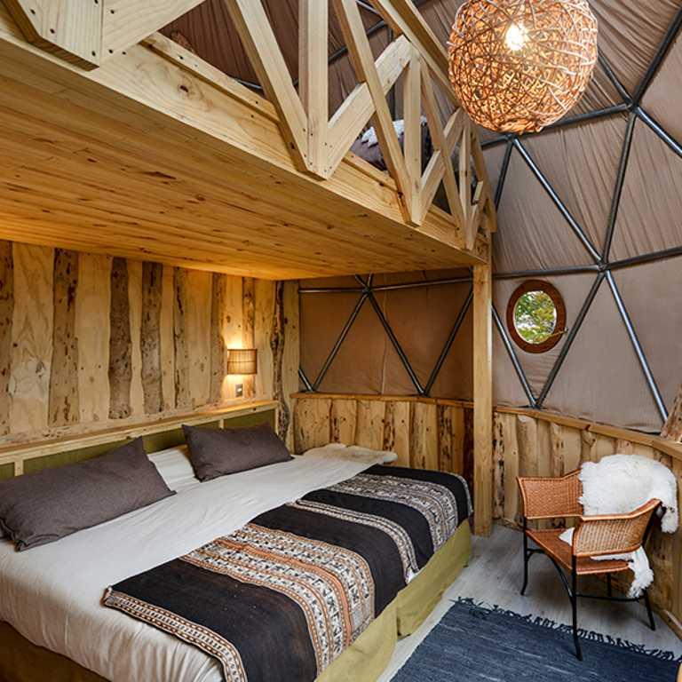 Eco Camp Suite Loft Dome