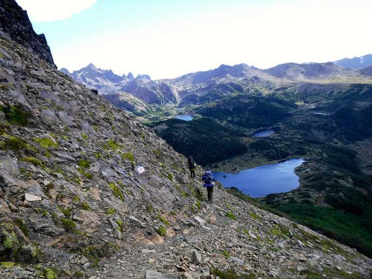 Laguna del Salto Tierra del Fuego trekking