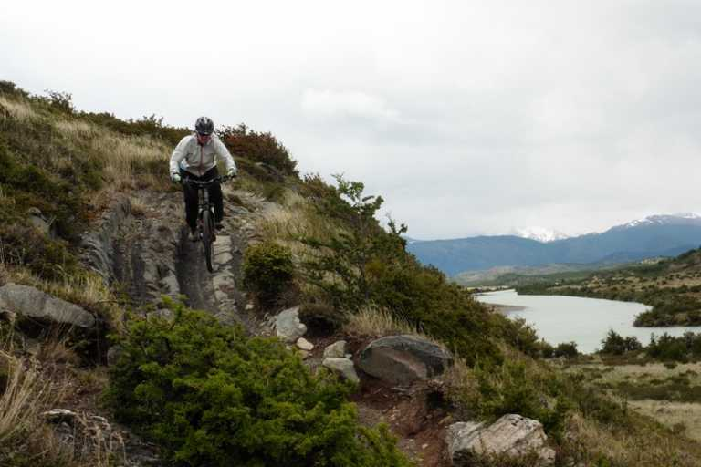 Torres del Paine mountainbike Fortaleza