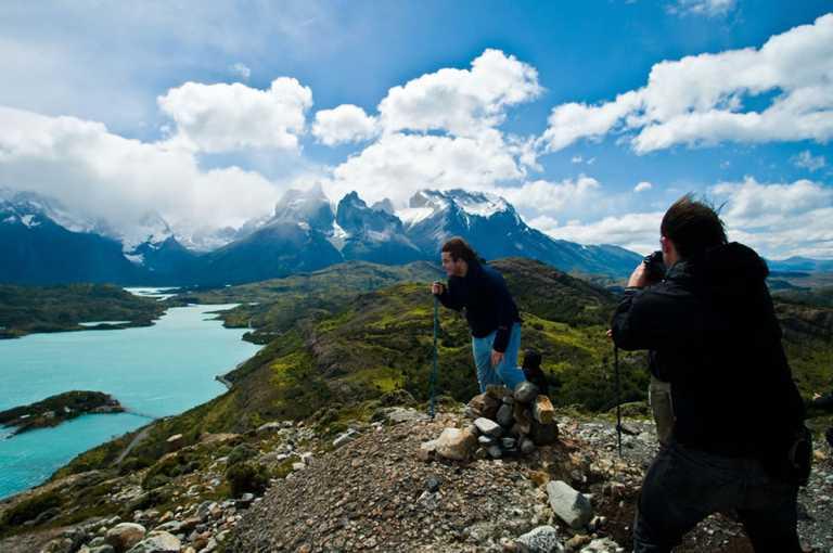 Pat camp hiking