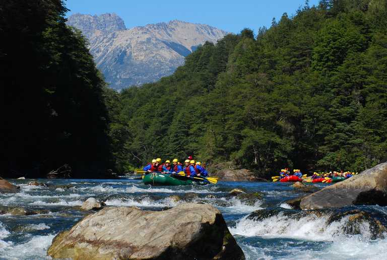 Rafting in Argentine Lakes - PMH