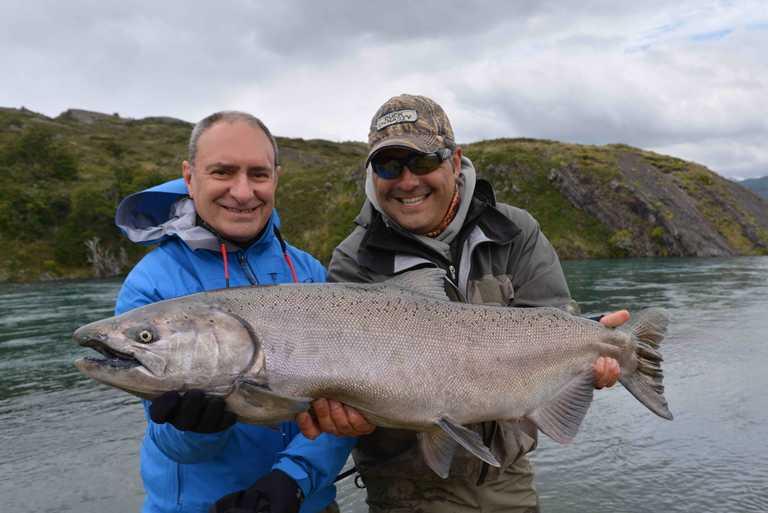 Fishing Torres del Paine
