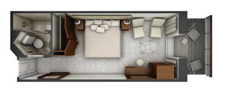 Silver Explorer Veranda/Vista:View Suite