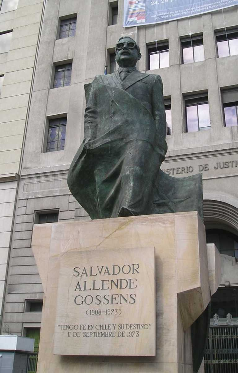 Santiago Salvador Allende Blog