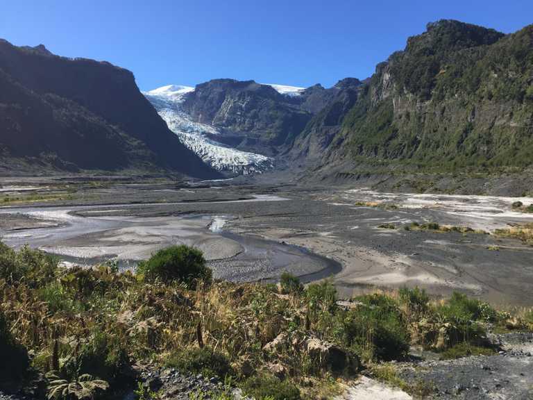 Pumalin glacier