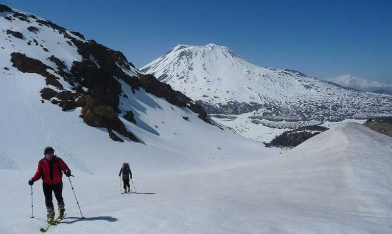 Ski 10 Chilean Volcanoes