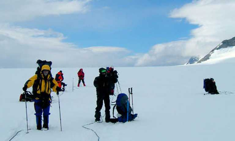 Ice Cap Ski Touring Expedition