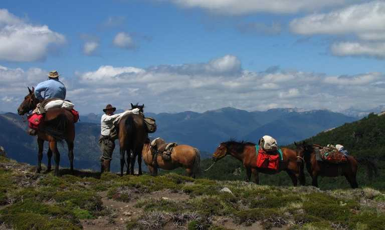 Horse Riding and Camping Adventure in San Martin