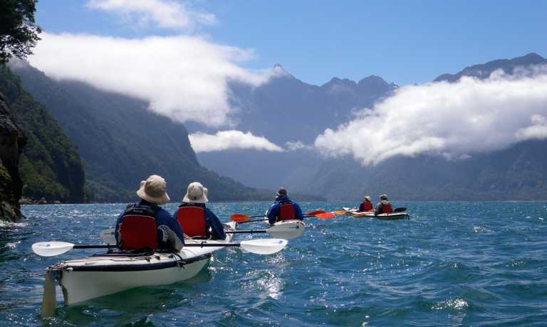 Andean fjords of Northern Patagonia