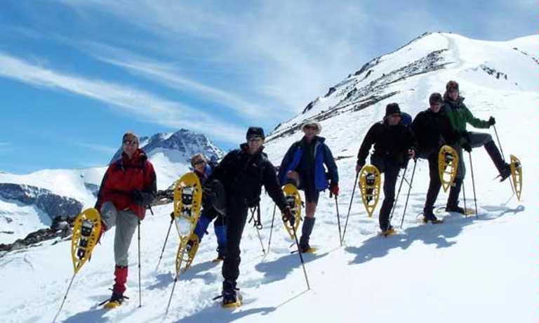 Trekking on Glaciar FitzRoy