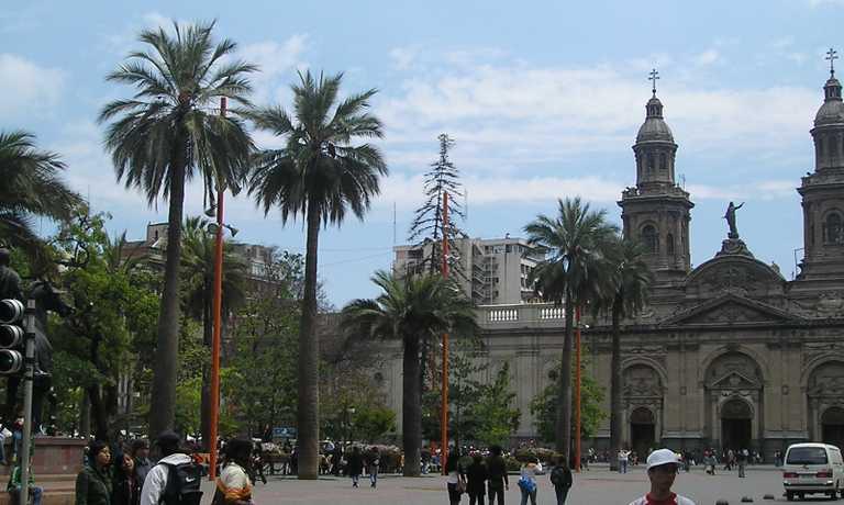 Sightseeing in Santiago