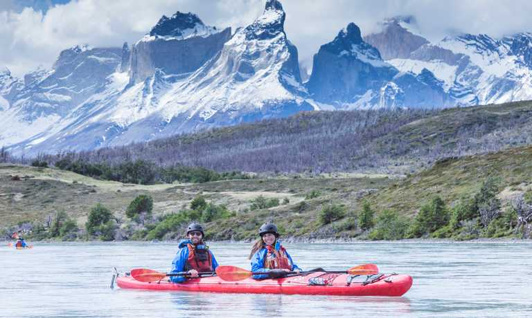 Kayak Grey & Serrano Rivers