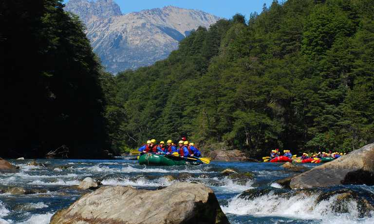 White Water Rafting in Patagonia