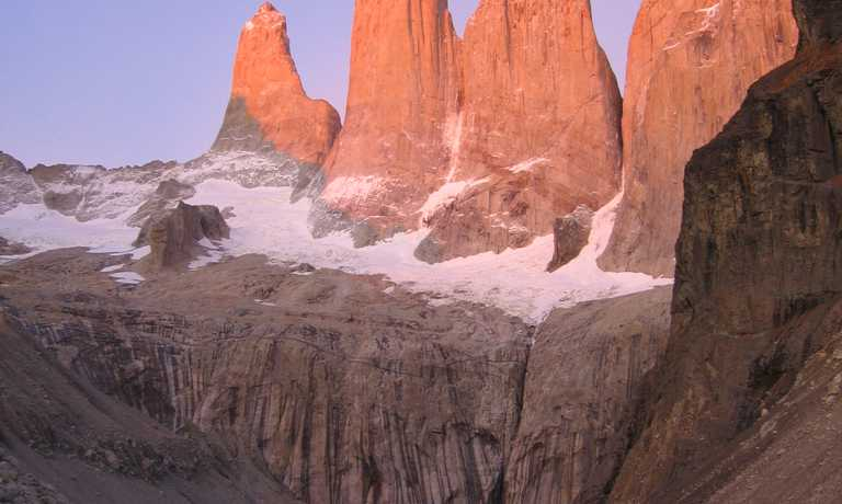 Self-guided W Trek from Calafate
