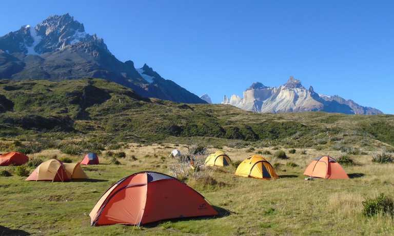 W Trek, 4 days camping