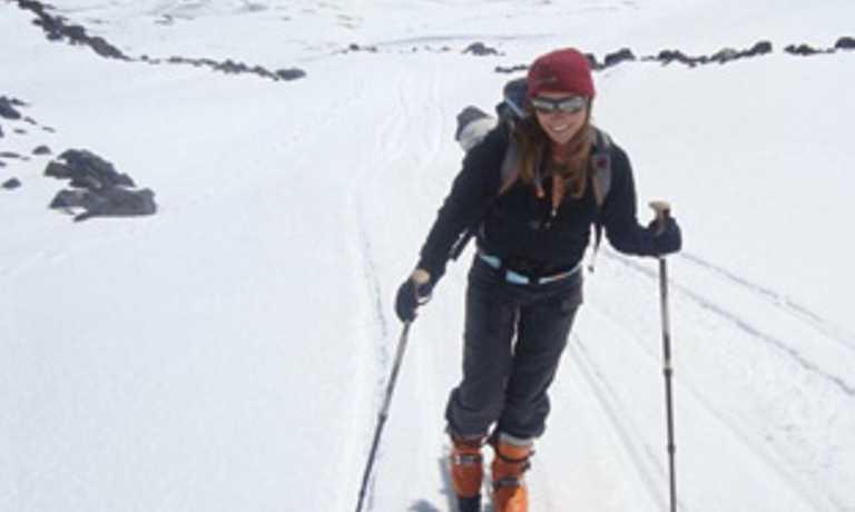 Ski touring 5 Patagonian volcanoes