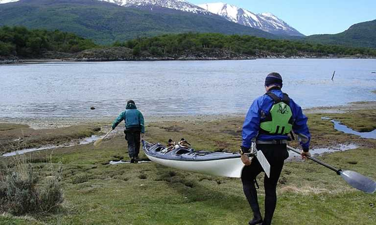 Sea Kayak in the Beagle channel